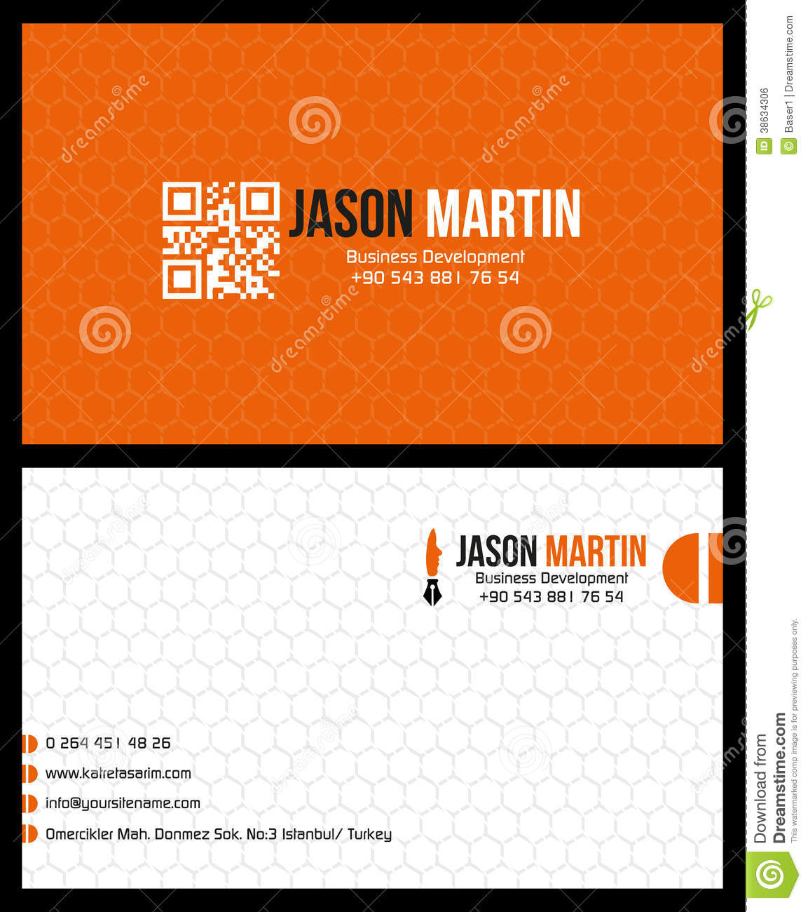 Royalty Free Stock Image Business Card Image