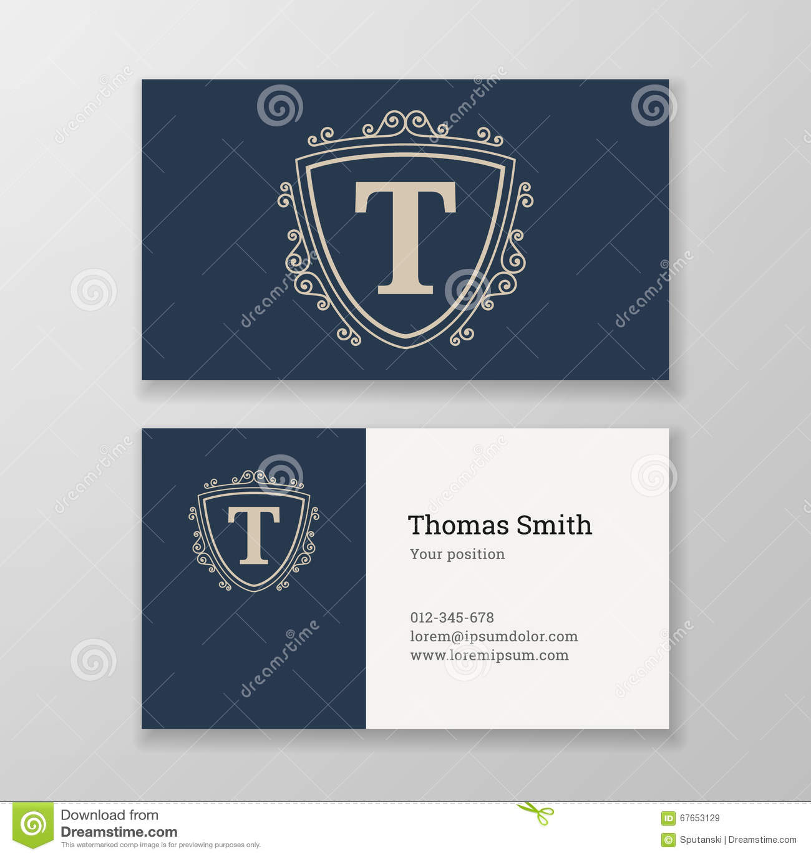Business card ornament emblem letter t template design for Letter t decoration