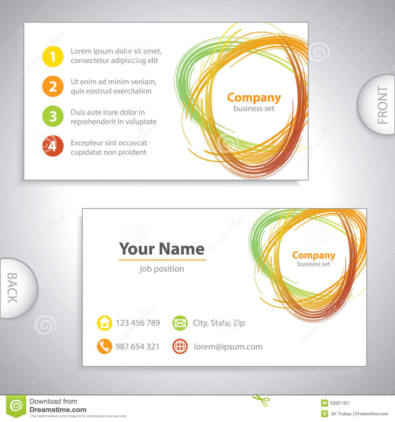 Business card recycling mix environmental variation orange download business card recycling mix environmental variation orange stock illustration illustration of colourmoves