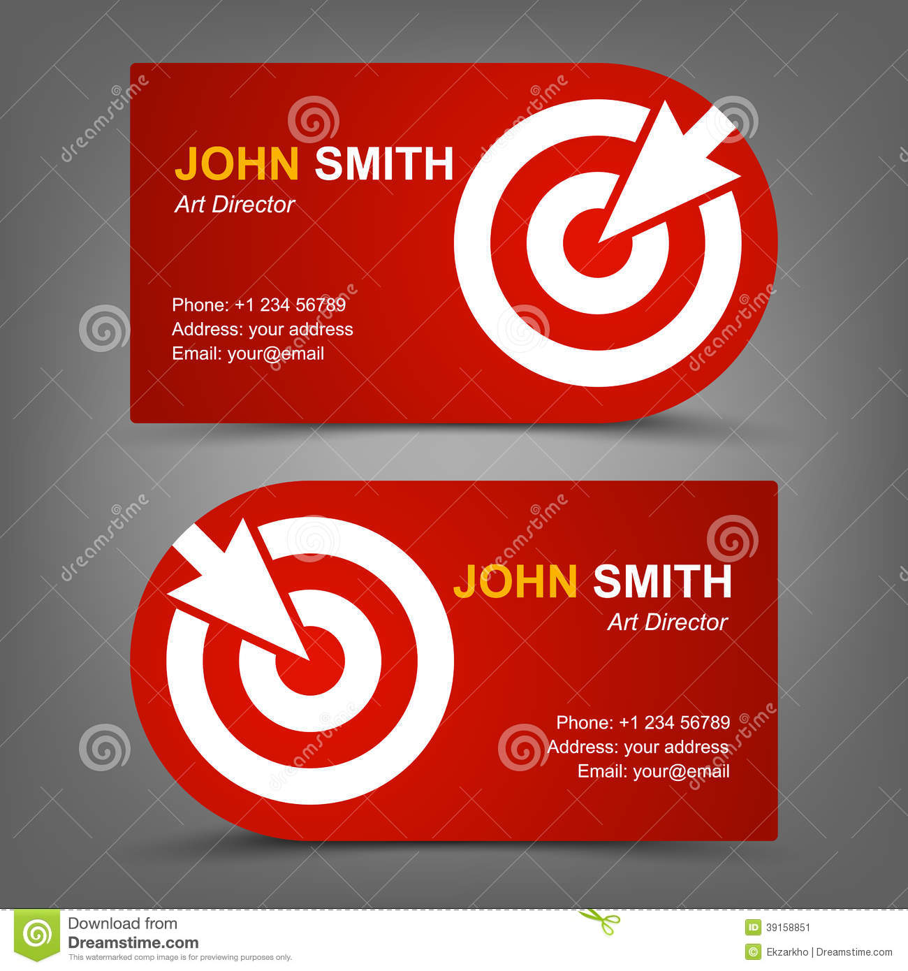 Target Business Card | Unlimitedgamers.co