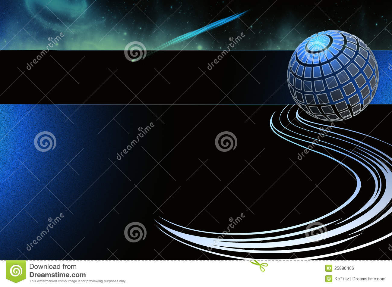 Business Card Template Abstract Background Royalty Free