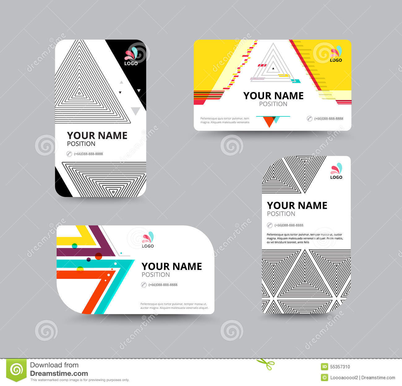Business card template business card layout design for Business card layout template