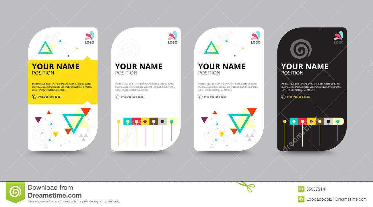 Business card template business card layout design for Company layout