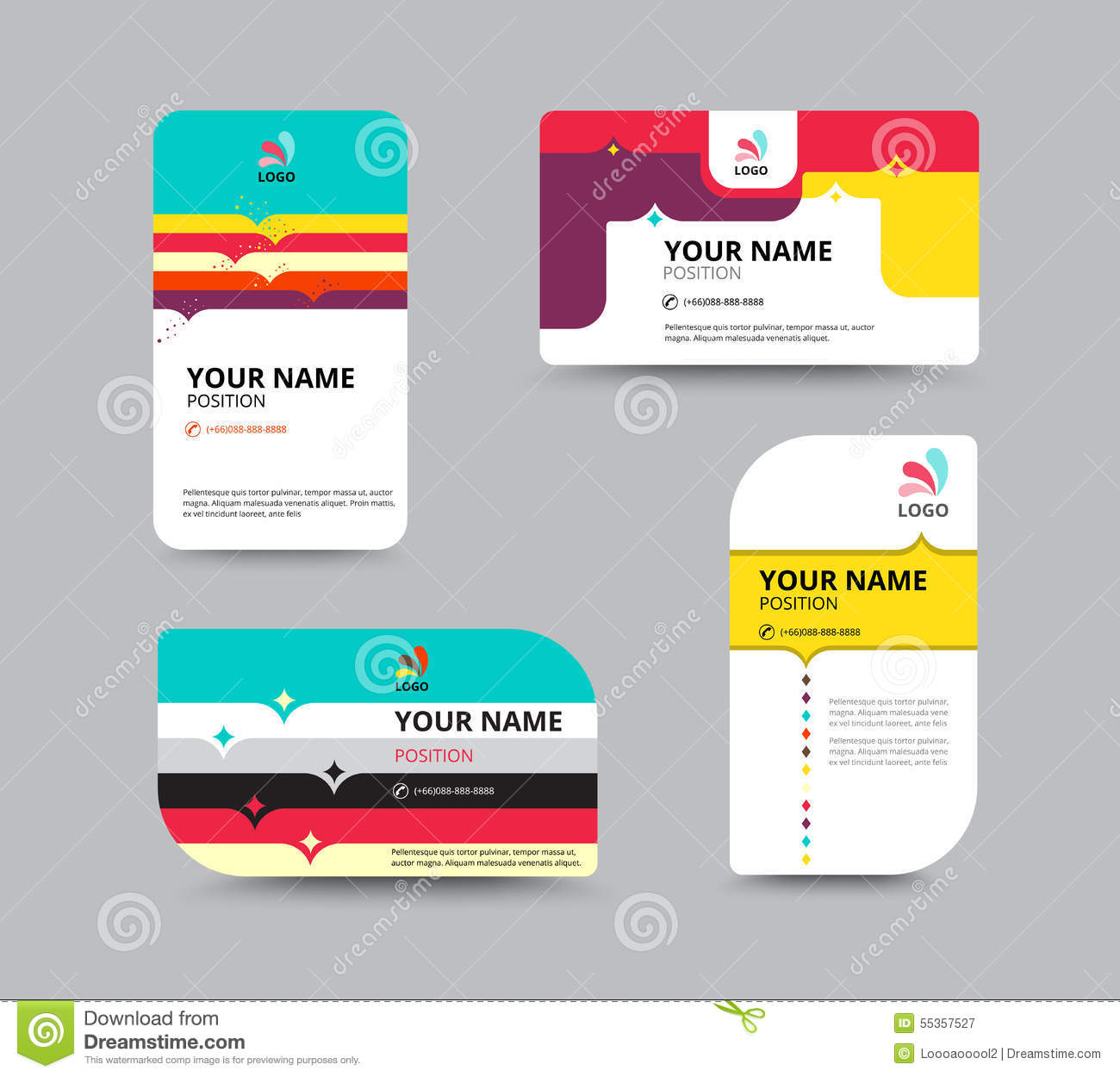 Business card template business card layout design vector illu business card template business card layout design vector illu magicingreecefo Choice Image