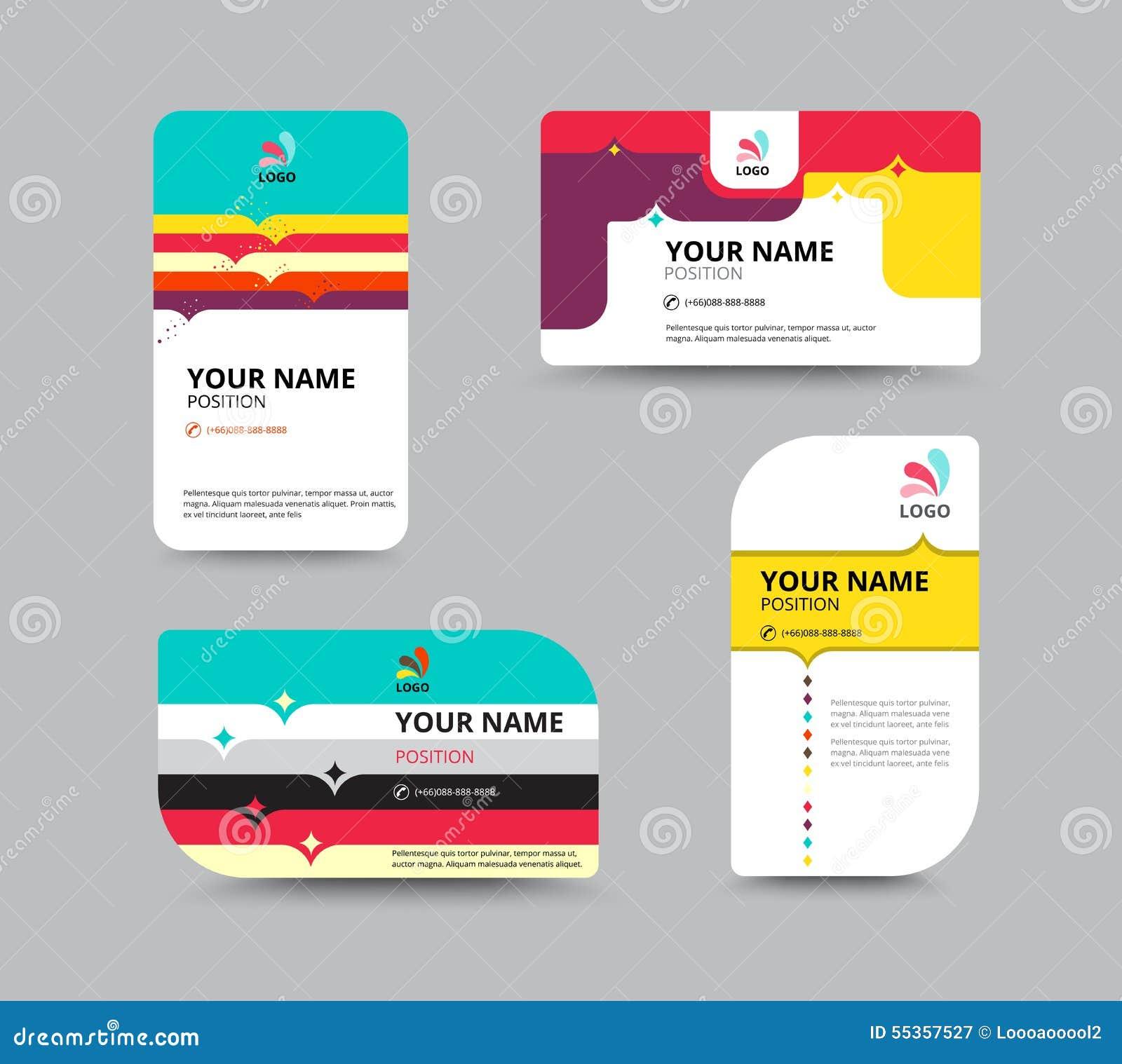 Visiting card layout novaondafm wajeb Image collections