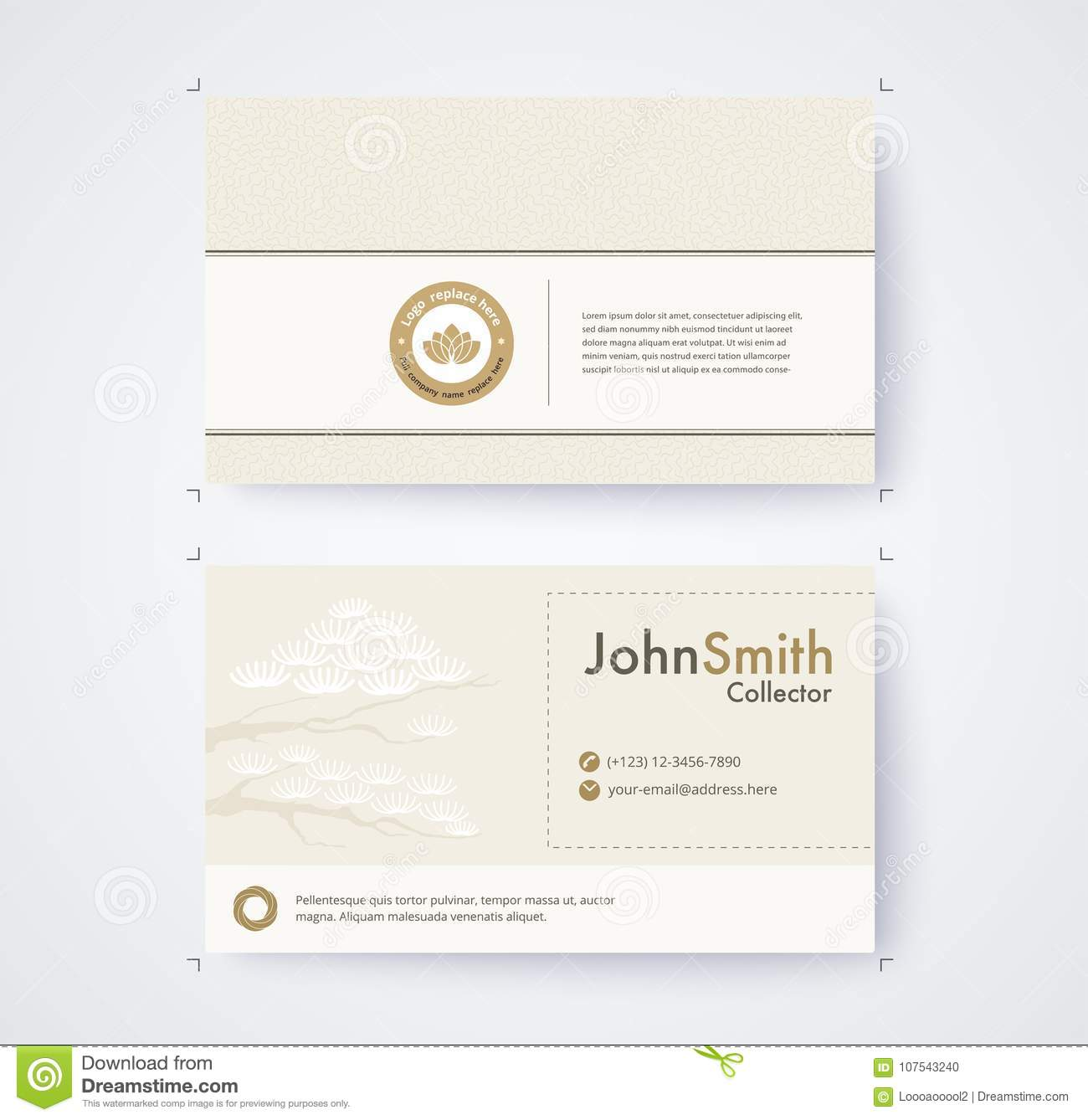 Business card template for commercial design on white background download business card template for commercial design on white background stock vector illustration of geomantry colourmoves