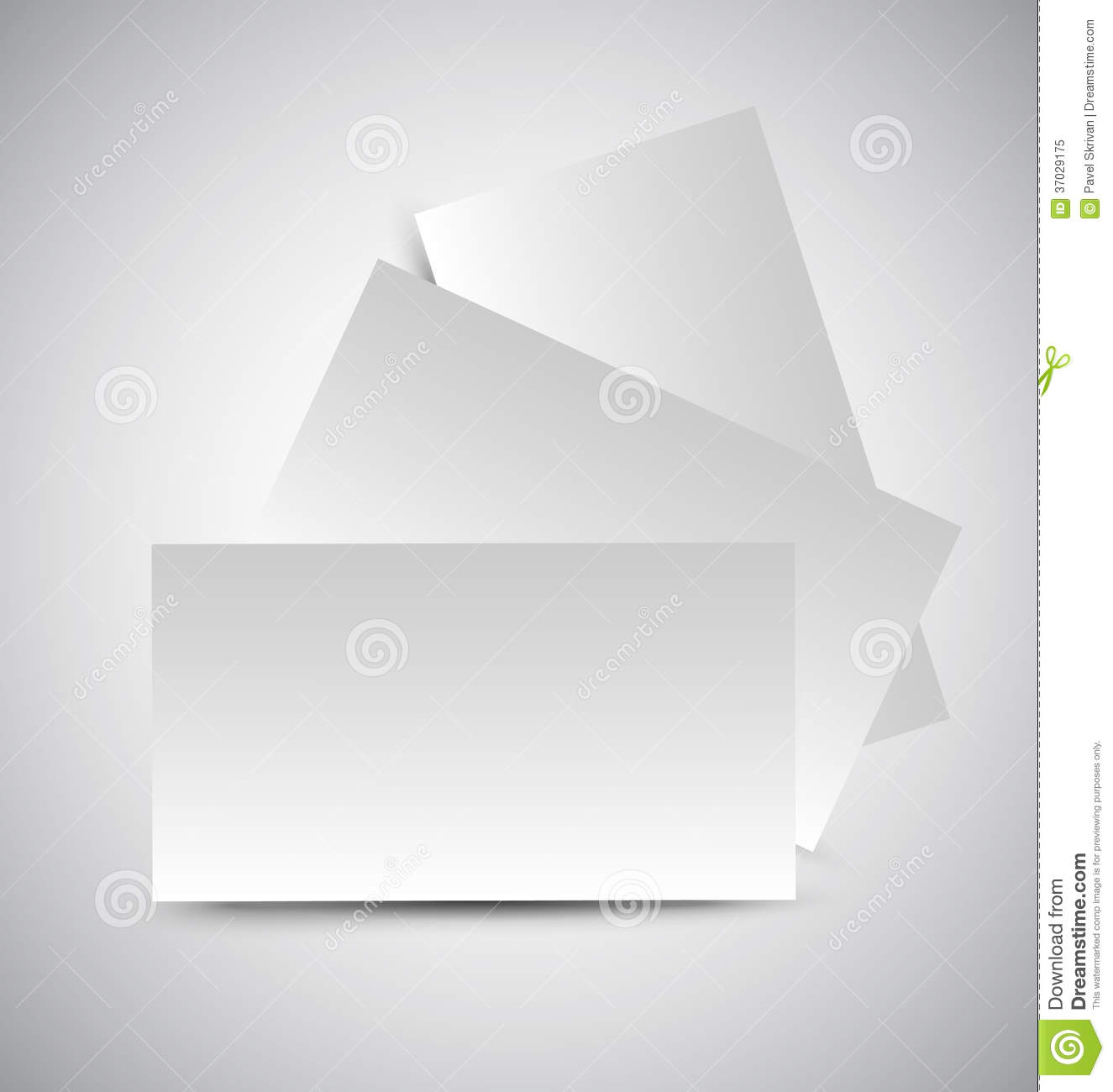 user interface design document template - business card royalty free stock photo image 37029175