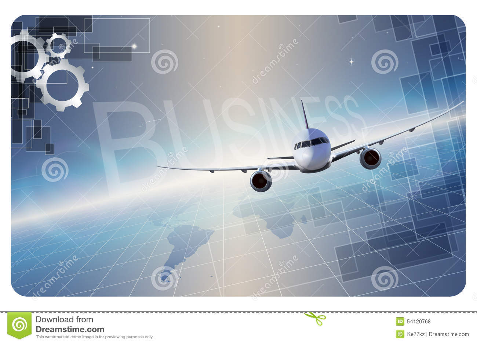 Business card template. stock illustration. Illustration of ...