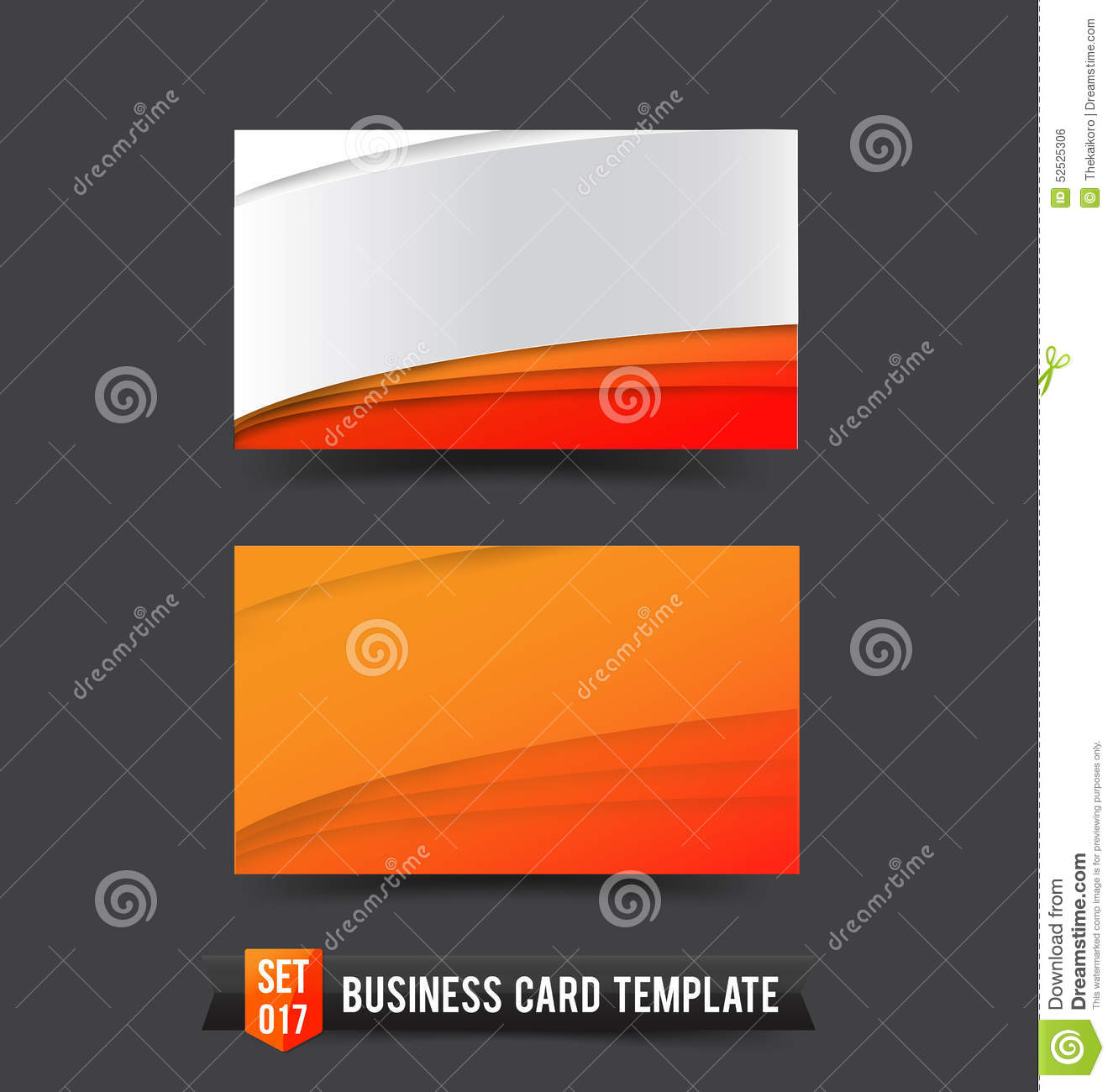 queue cards template - swirl style line card colorful template vector