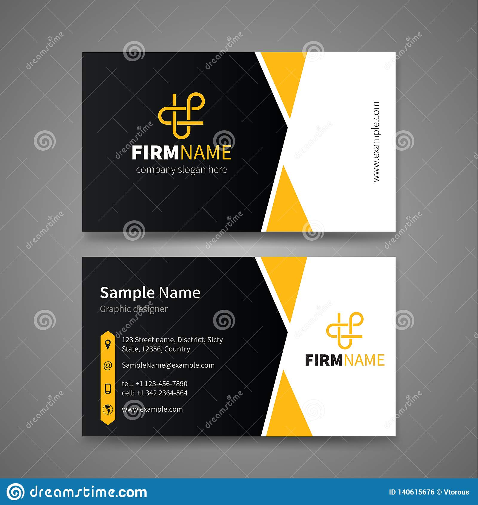 Business card templates stock vector. Illustration of abstract With Regard To Web Design Business Cards Templates