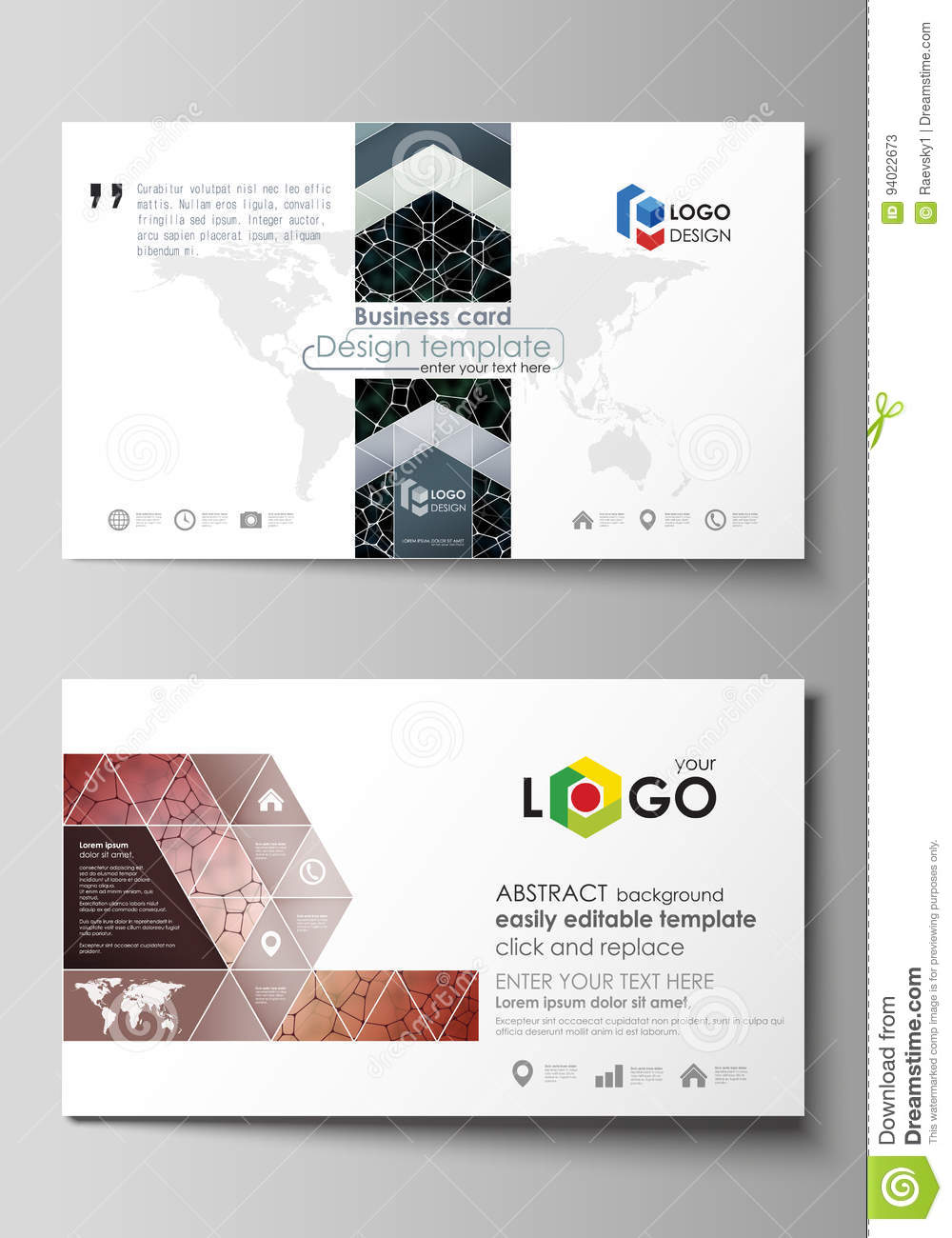 Business card templates easy editable layout abstract vector download business card templates easy editable layout abstract vector design template chemistry pattern accmission Gallery