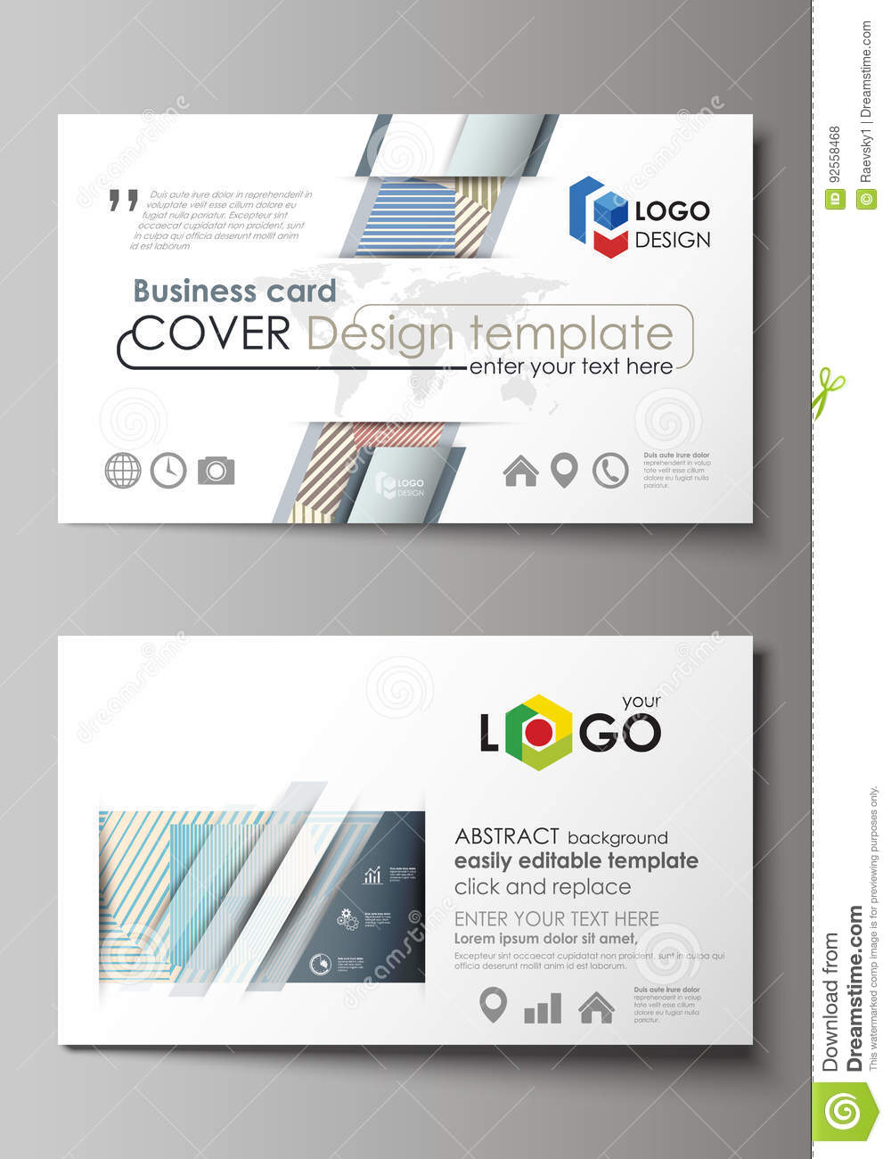 Business card templates easy editable layout abstract vector download business card templates easy editable layout abstract vector template minimalistic design with flashek Gallery
