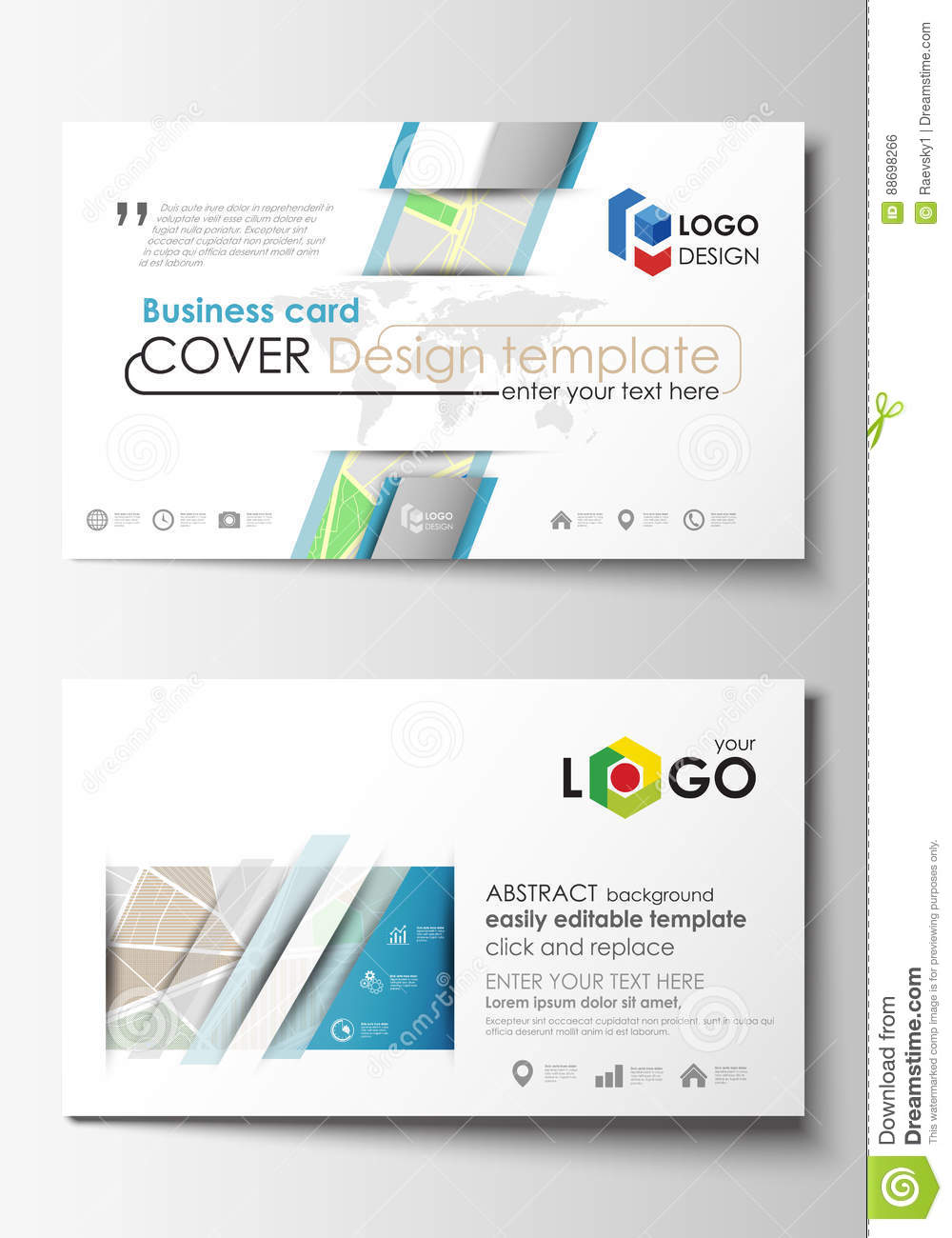 Business card templates easy editable layout city map with streets business card templates easy editable layout city map with streets flat design template for tourism businesses alramifo Images