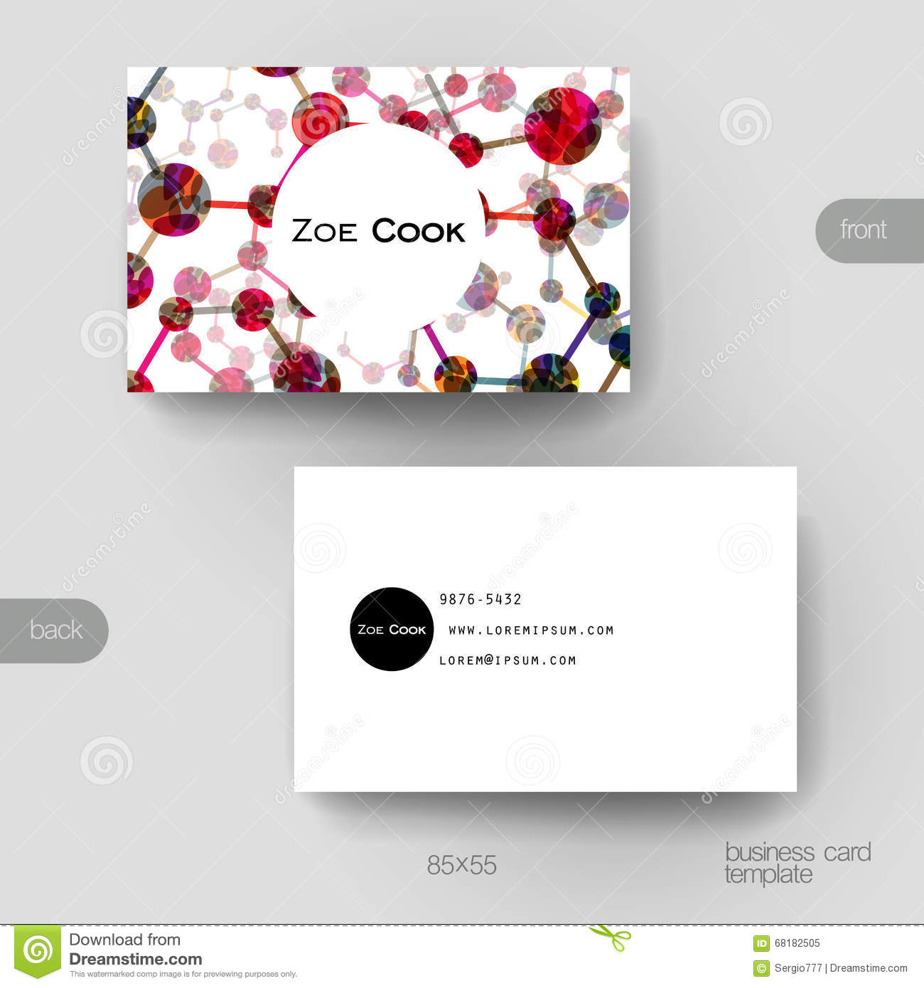 Business card vector template with dna molecule background stock royalty free vector download business card vector template with dna molecule background stock vector reheart Image collections