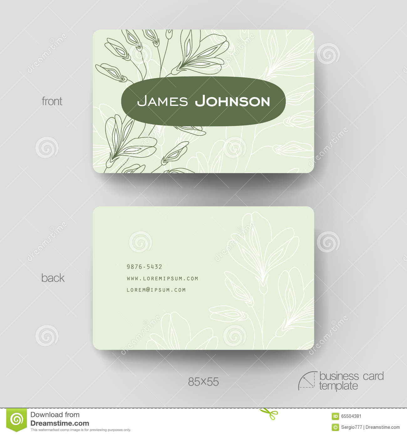 Pressure Washing Business Card Templates