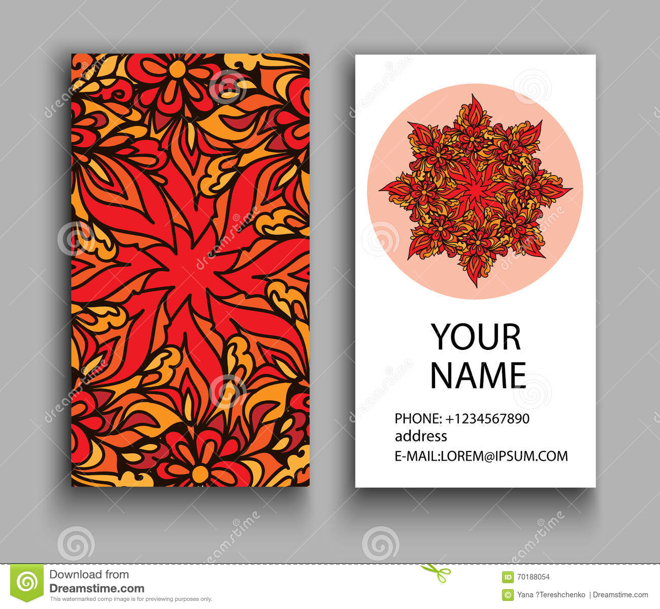 Business card vintage decorative elements ornamental floral download business card vintage decorative elements ornamental floral business cards oriental pattern stock reheart Gallery