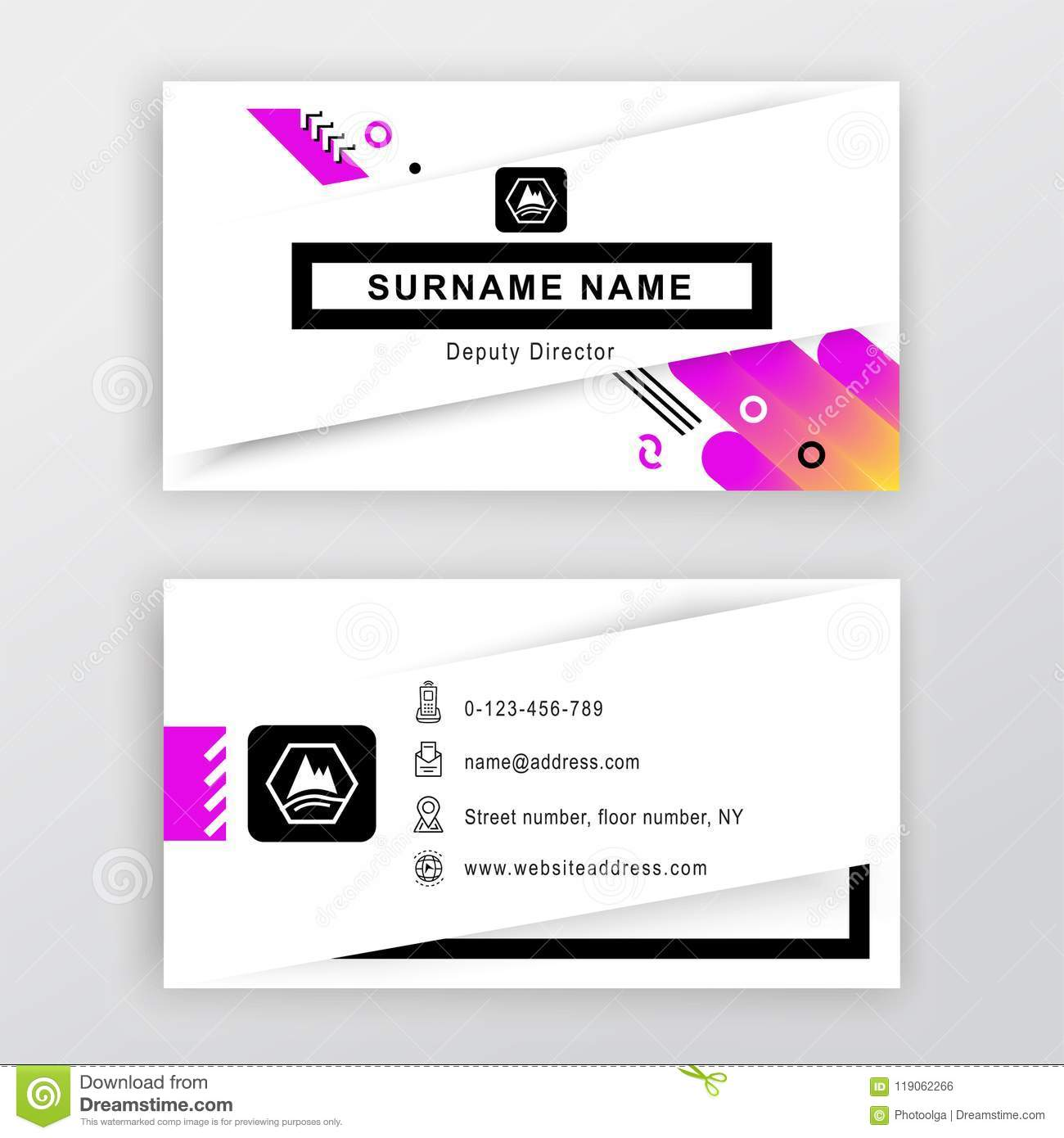 Business card white background with logo abstract gradients shapes download business card white background with logo abstract gradients shapes and thin icons colourmoves