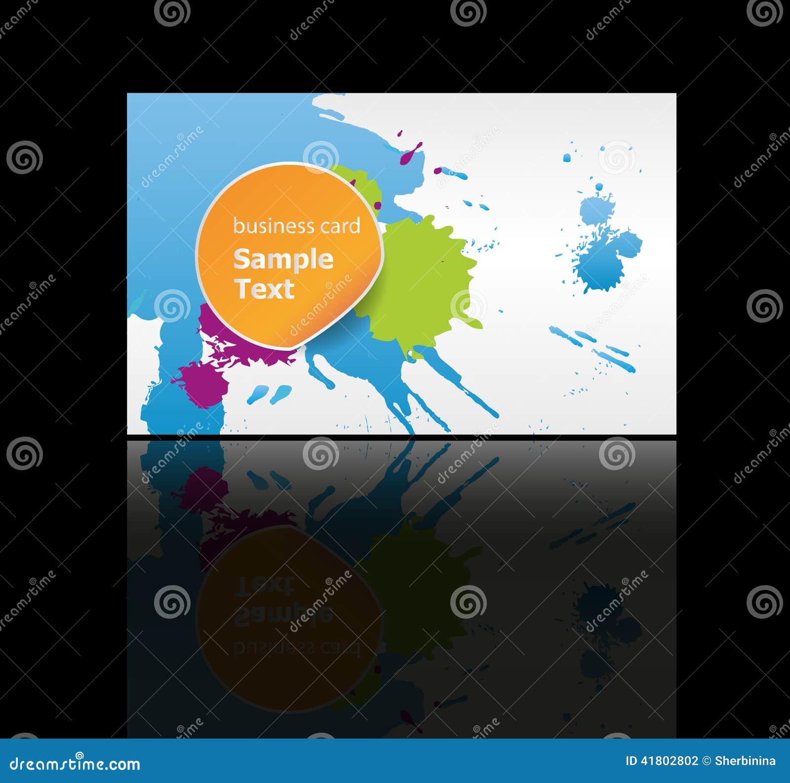 Business Cards Background Design