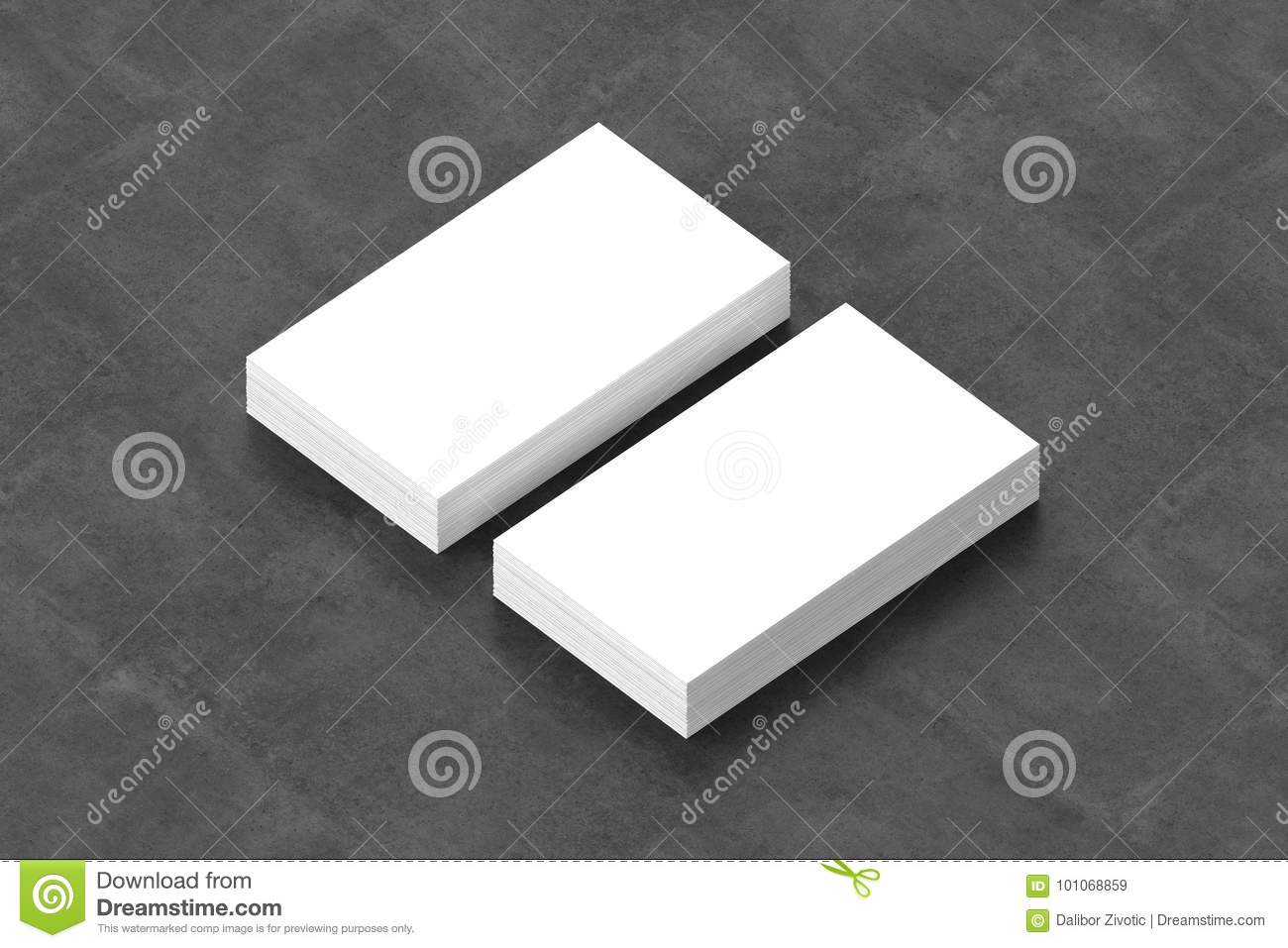 Business cards blank mockup template 3d illustration stock download business cards blank mockup template 3d illustration stock illustration illustration of advertisement colourmoves