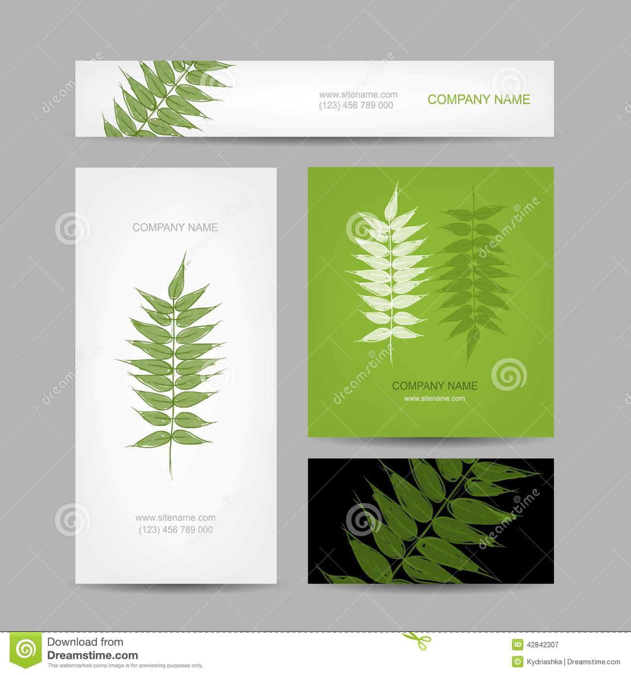 Green leaf business cards choice image card design and card template business cards collection green leaf design stock vector image royalty free vector download business cards collection magicingreecefo Choice Image