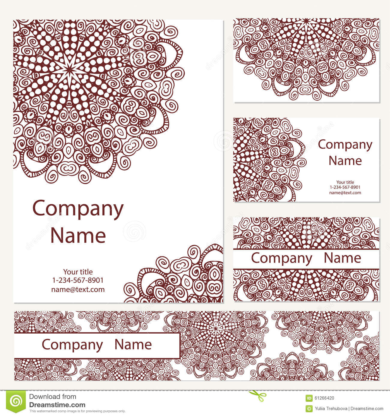 Business cards collection ornament for your design with lace business cards collection ornament for your design with lace mandala vector background indian arabic islam motifs colourmoves