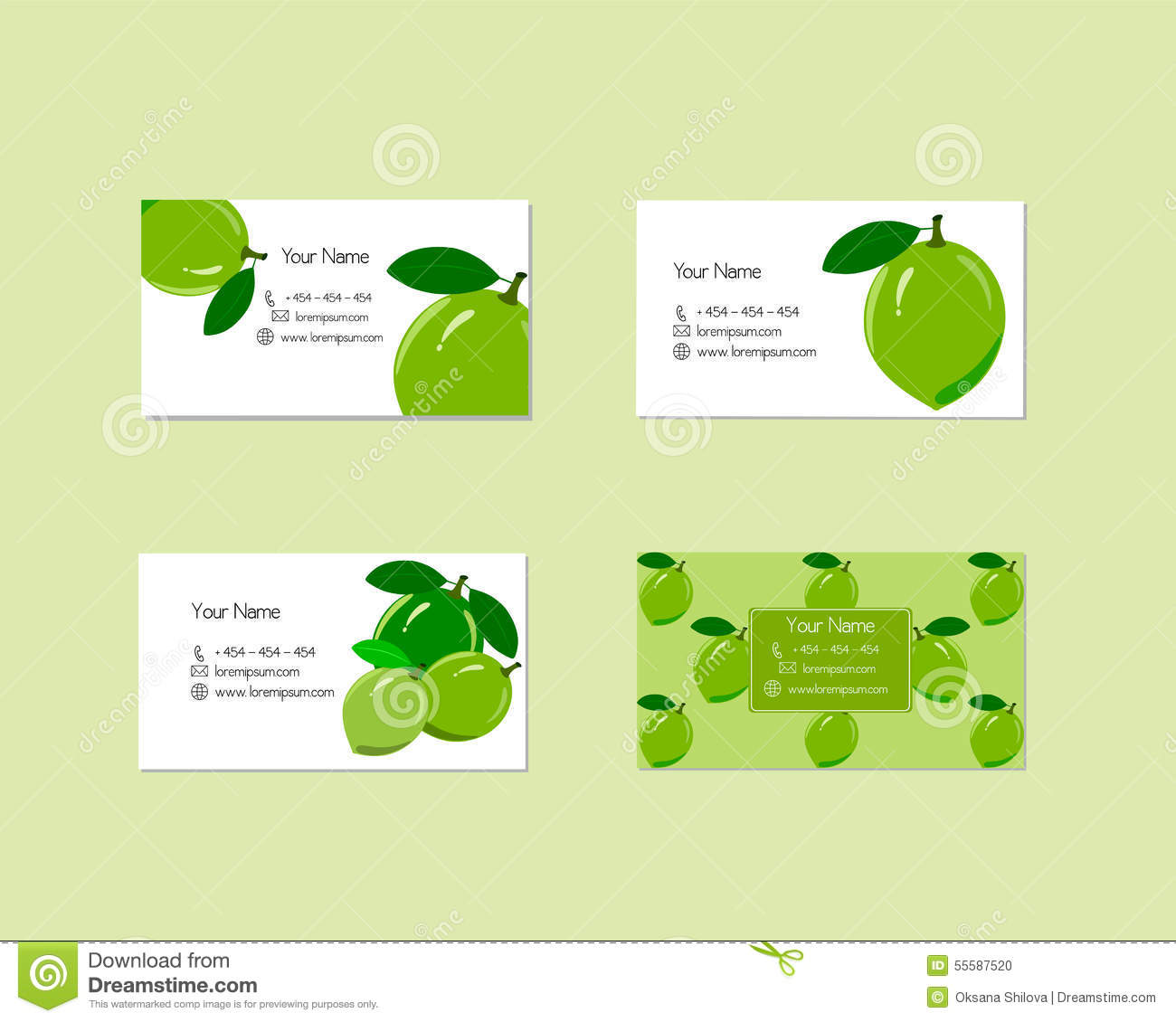 Business cards with ripe juicy lime fruit stock vector download business cards with ripe juicy lime fruit stock vector illustration of dessert lemony reheart Image collections