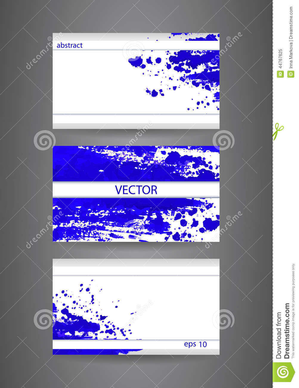 Business cards template with blue abstract spray paint paper business cards template with blue abstract spray paint paper background colourmoves