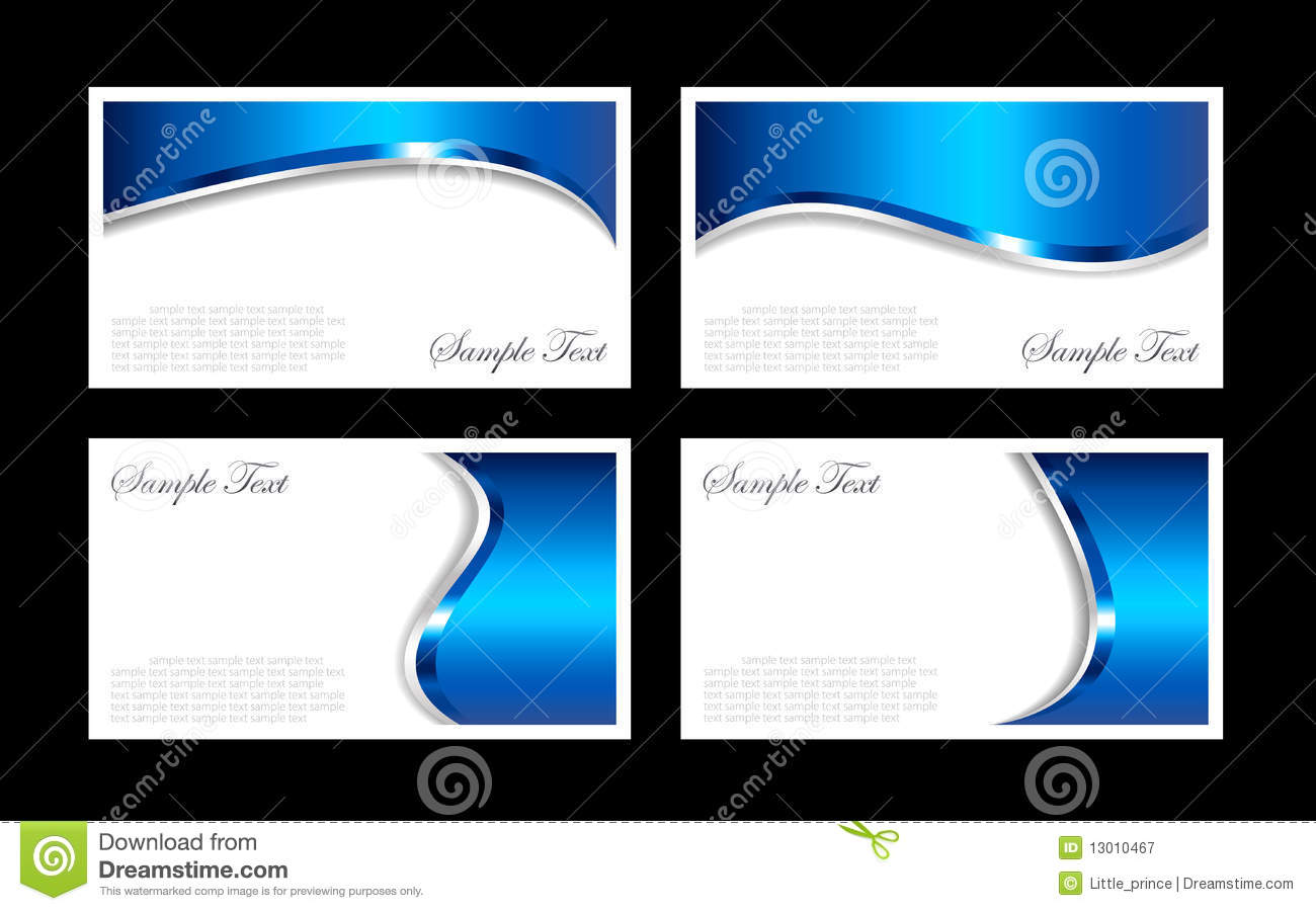 Business cards templates stock vector illustration of silver 13010467 reheart Choice Image