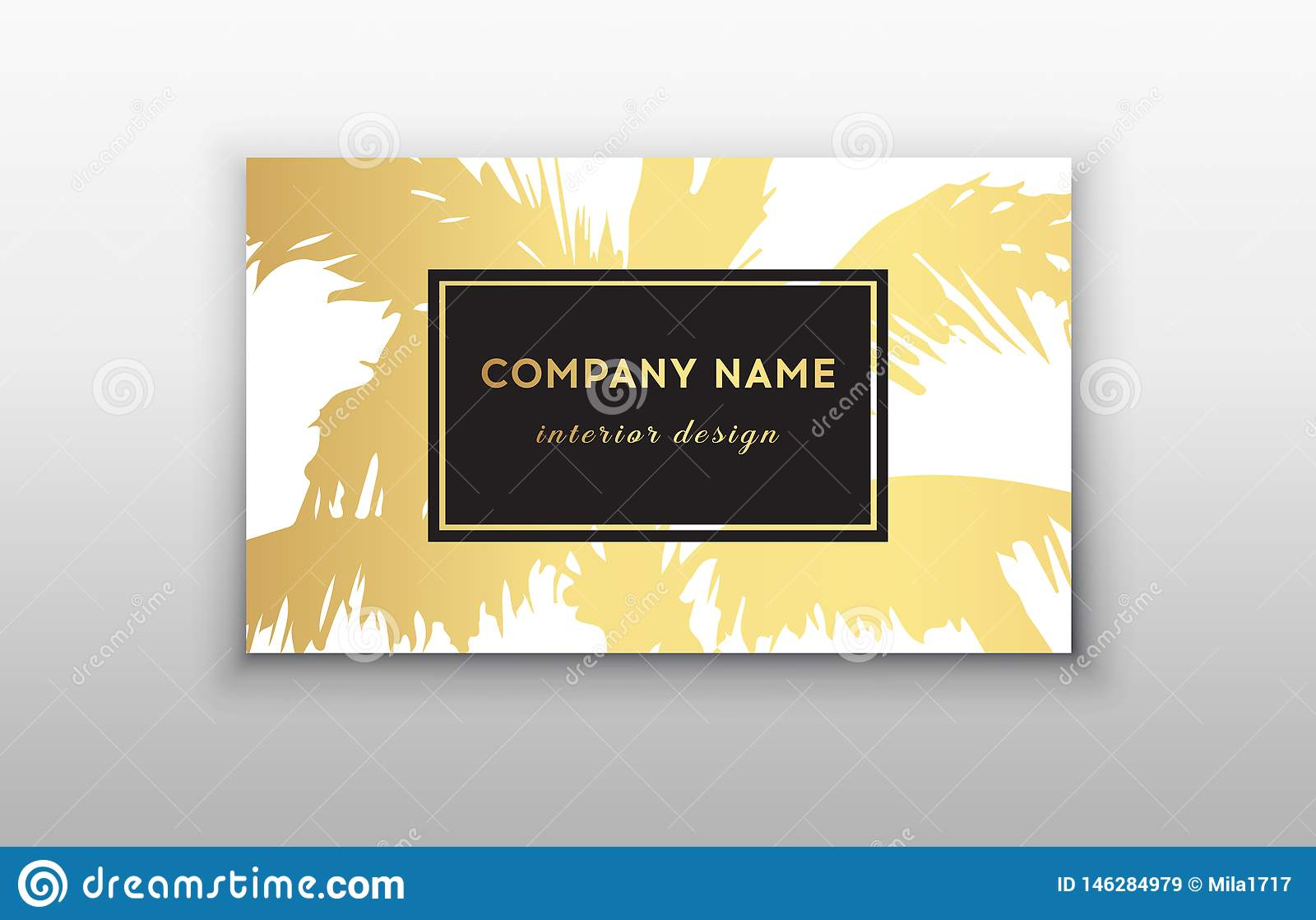 Business Cards Tropical Graphic Design Tropical Palm Leaf