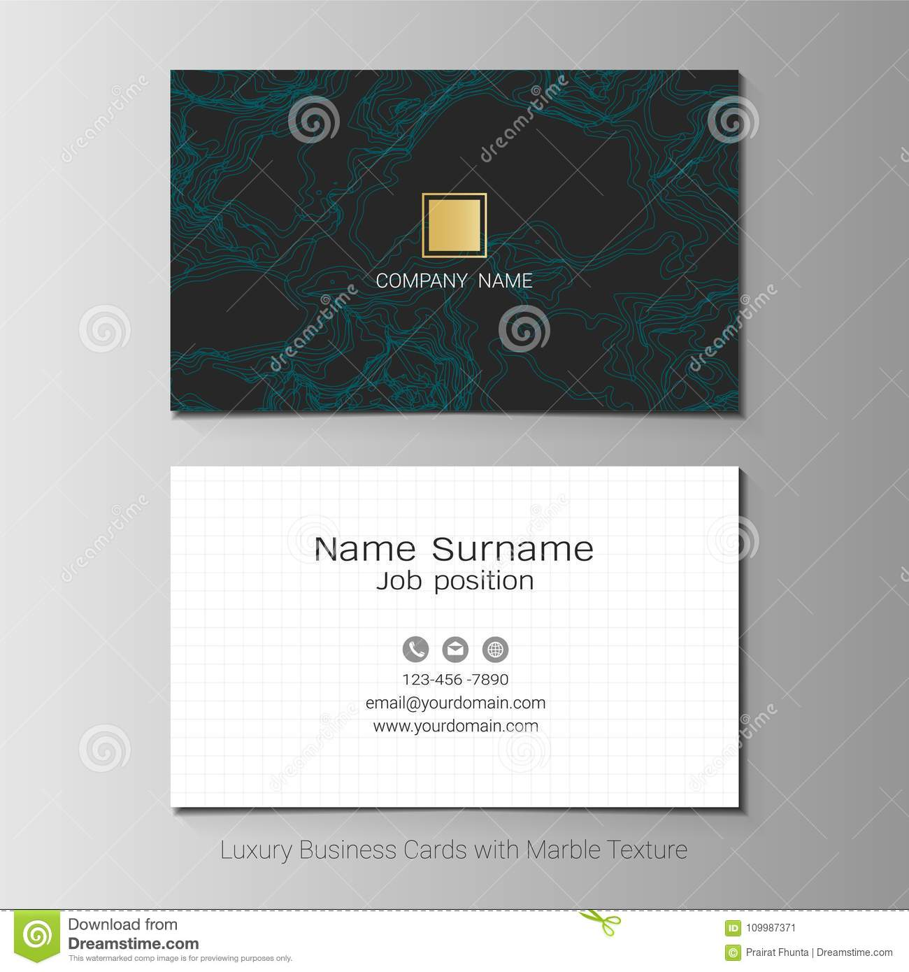 Business cards vector template stock vector illustration of download business cards vector template stock vector illustration of layout backdrop 109987371 reheart Images