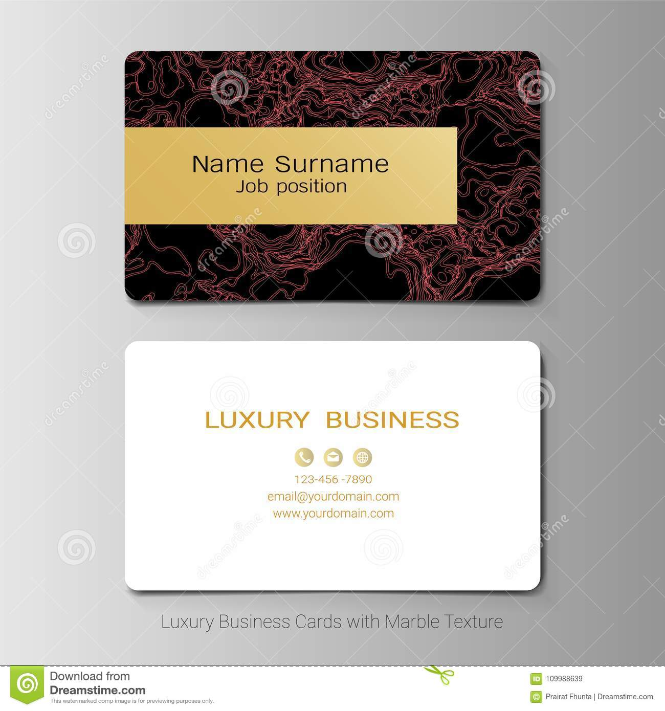 Business cards vector template stock vector illustration of download business cards vector template stock vector illustration of layout backdrop 109988639 reheart Images