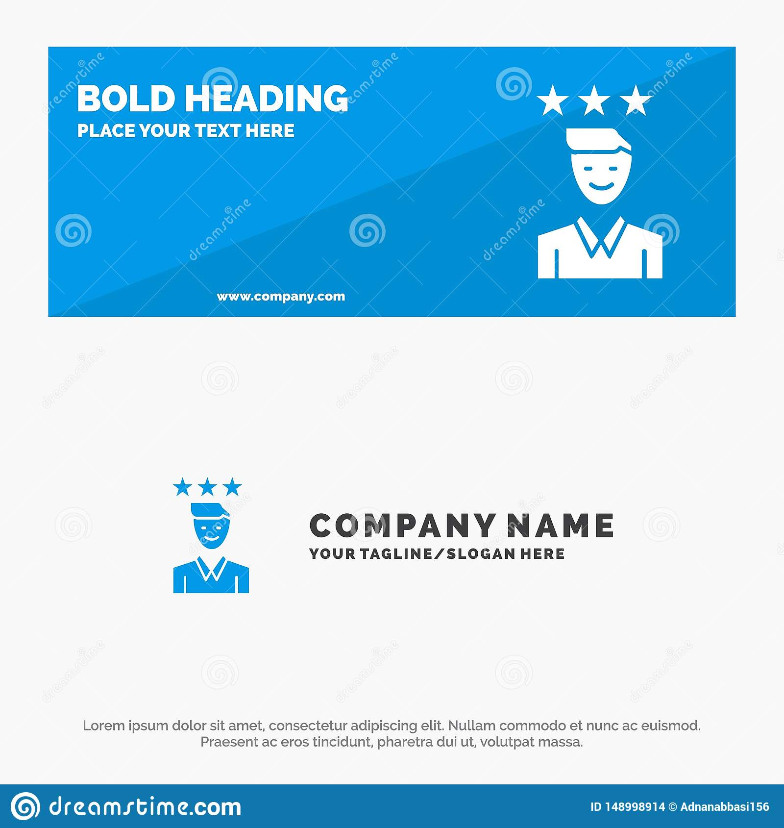 Business Career Growth Job Path Solid Icon Website Banner And Business Logo Template Stock Vector Illustration Of Flat Chart 148998914