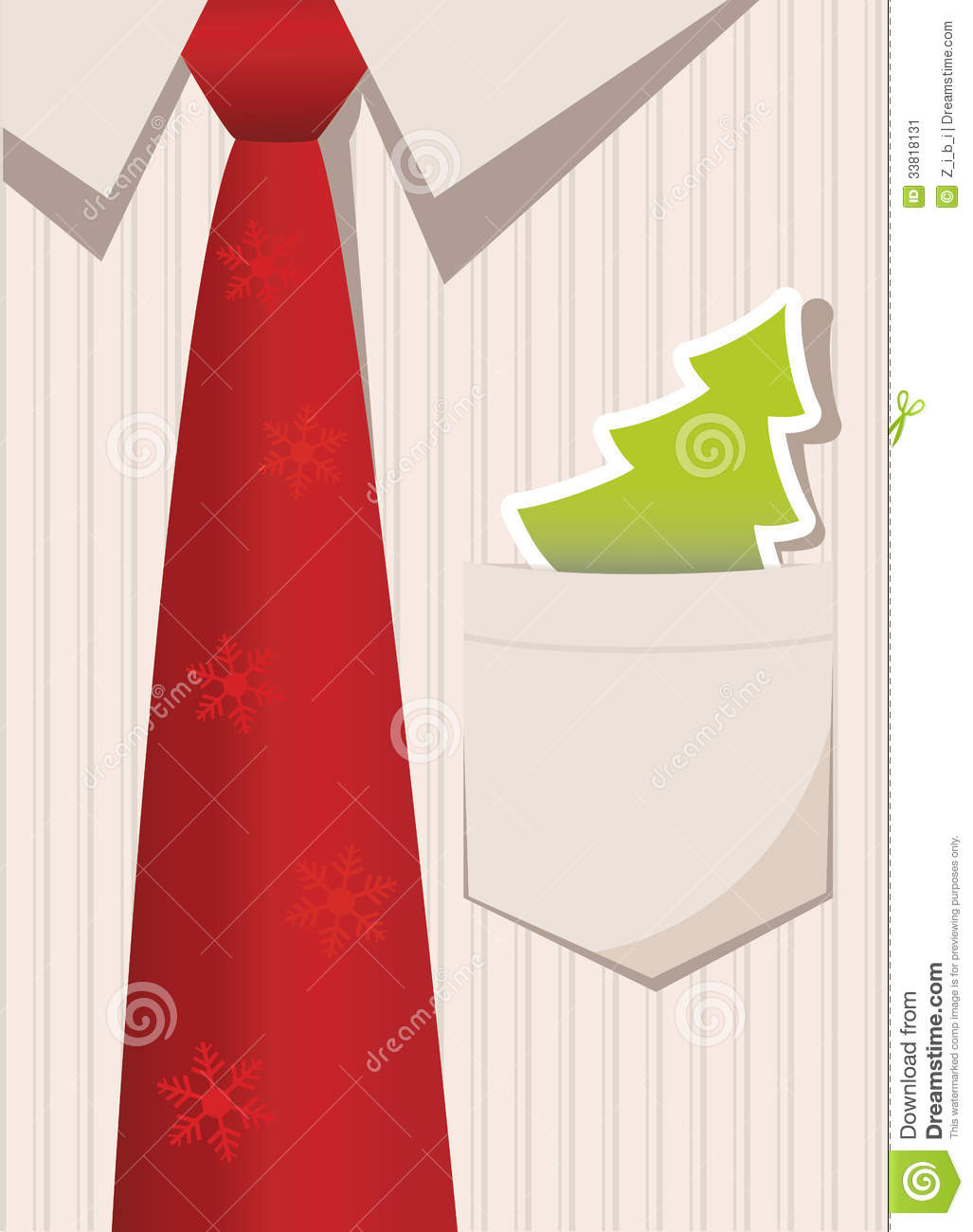 Business Christmas Greeting Card Stock Vector - Illustration of ...