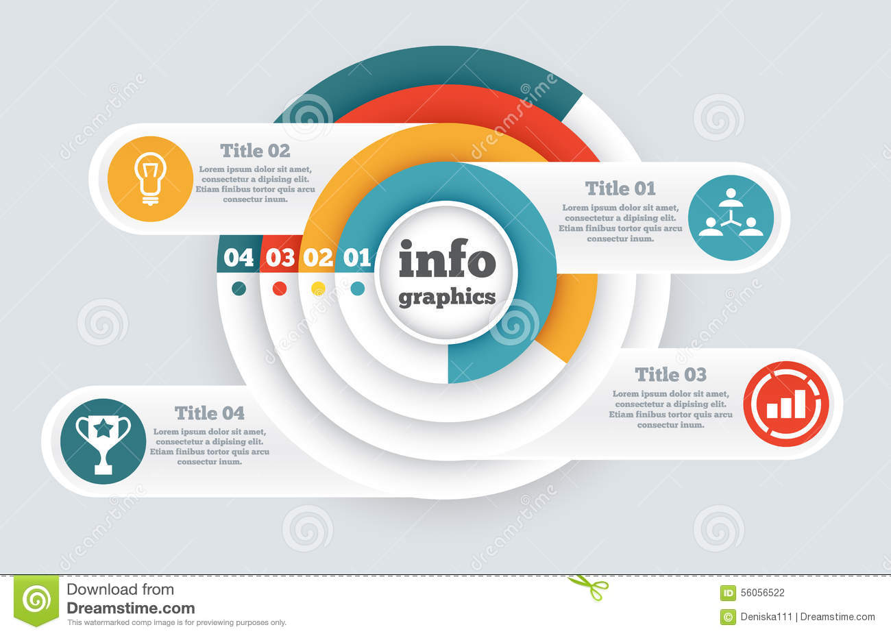Business Circle Infographic, Chart, Diagram Stock Vector - Image ...