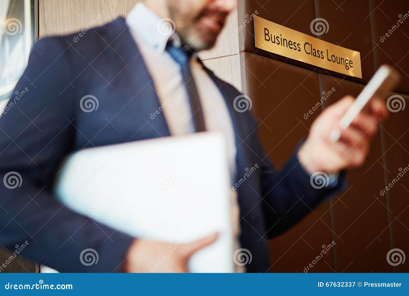Business-Class-Aufenthaltsraum