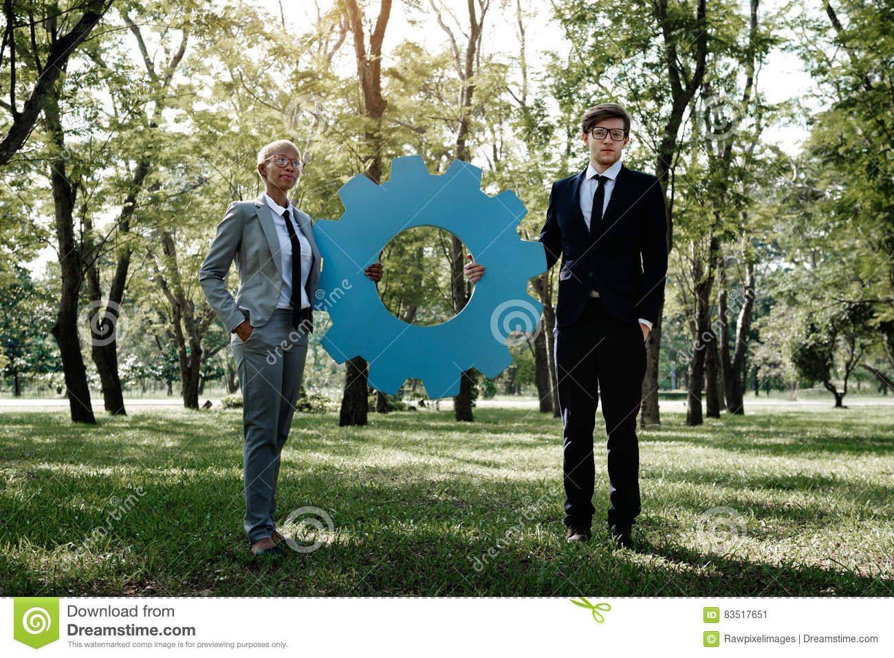 Business Collaboration Corporate Agreement Concept Stock Image