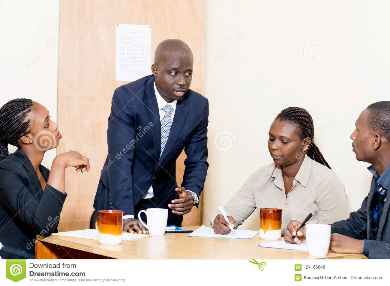 Business colleagues meet for a meeting at the office stock photo download business colleagues meet for a meeting at the office stock photo image of m4hsunfo