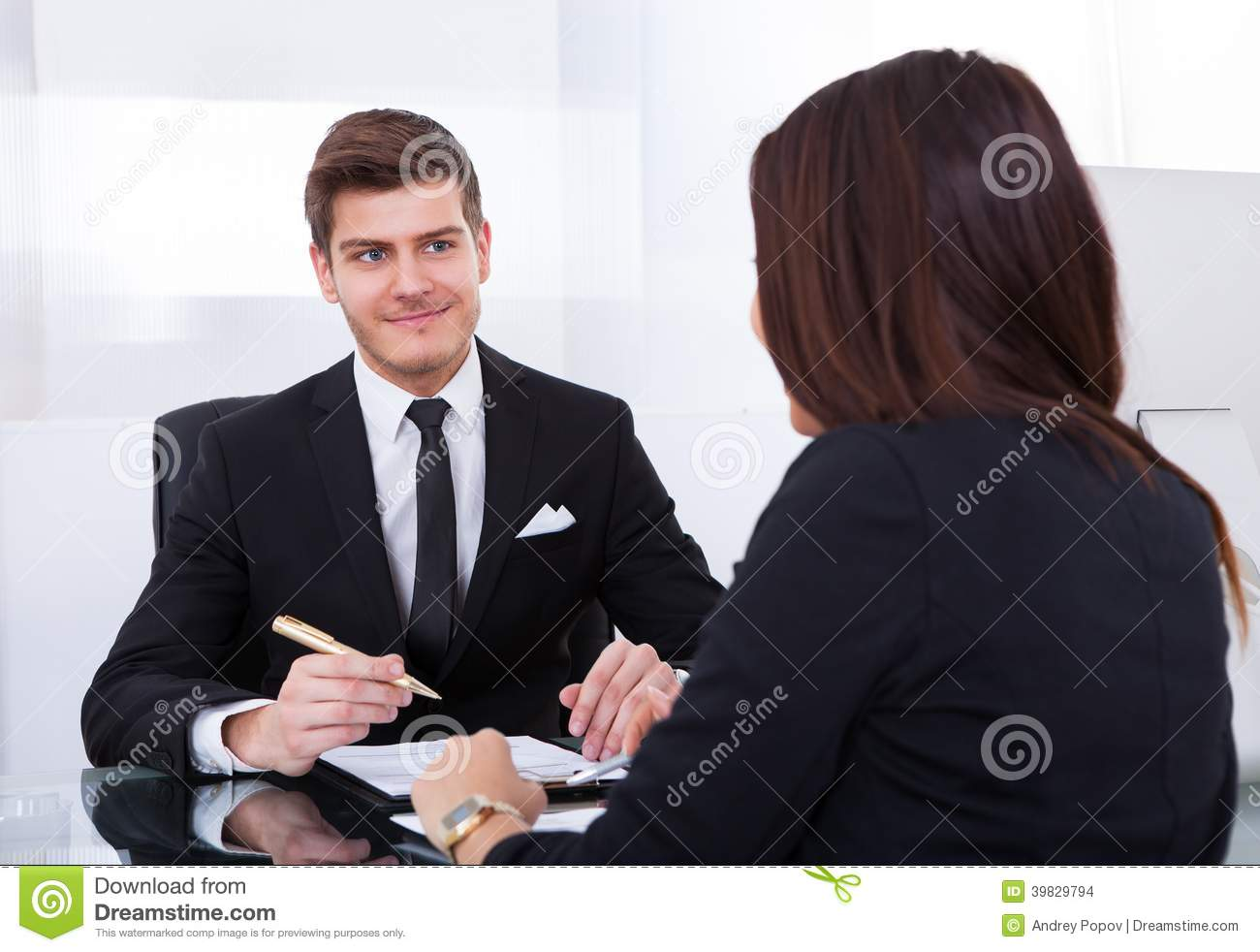 Business Colleagues In Meeting Stock Photo - Image of ...