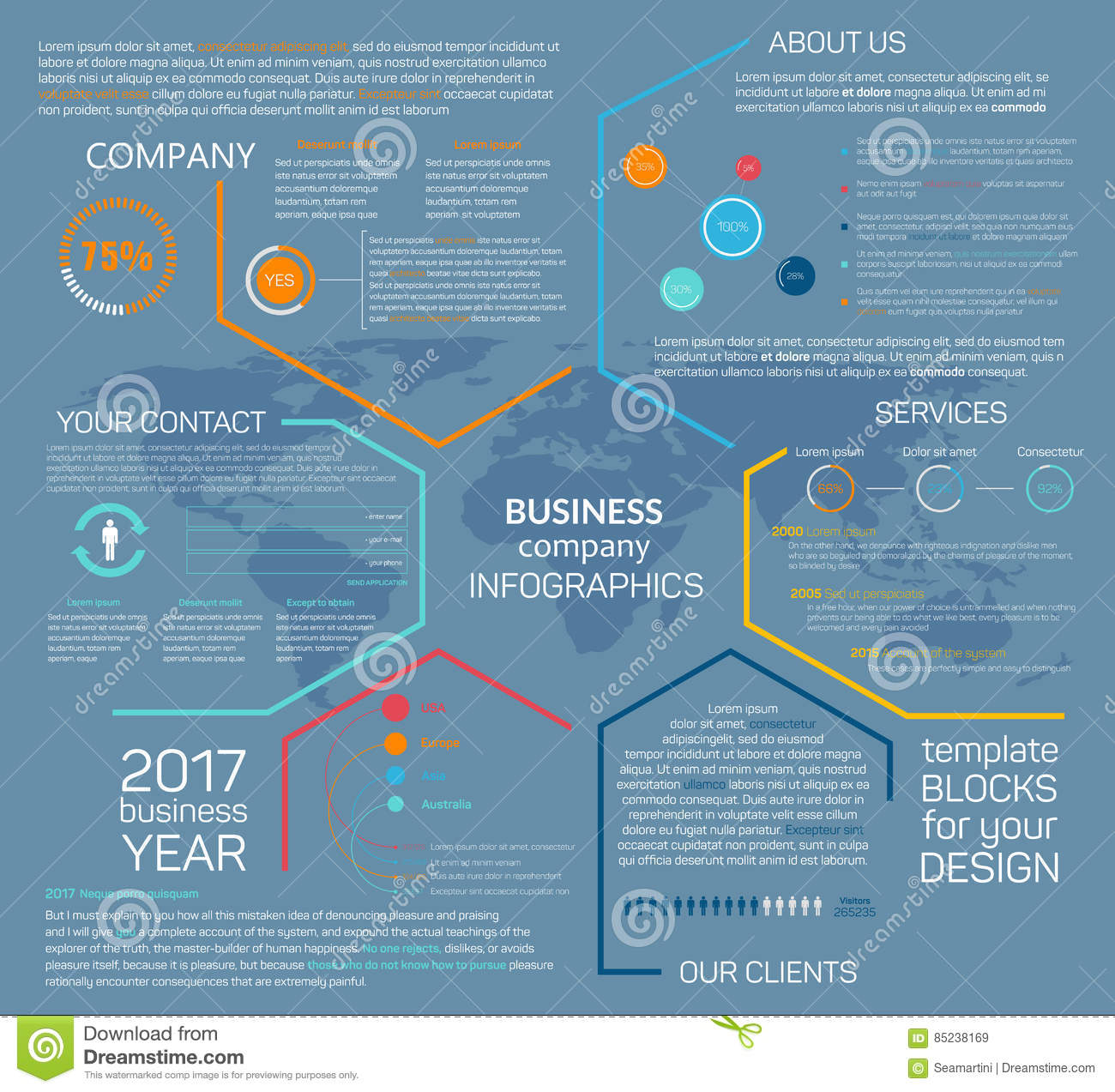 Pa Buisness System Diagram Schematic Diagrams Live Sound Setup Business Company Vector Infographics Chart Stock