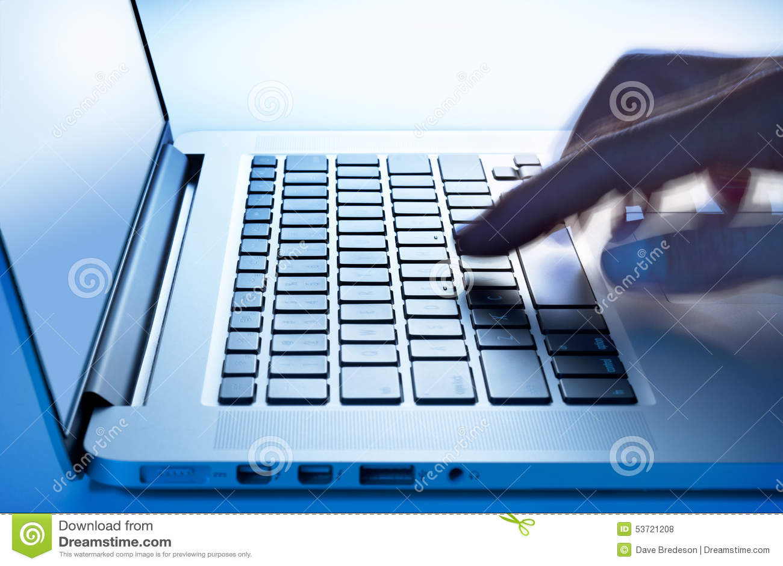 Business Computer Laptop Hand