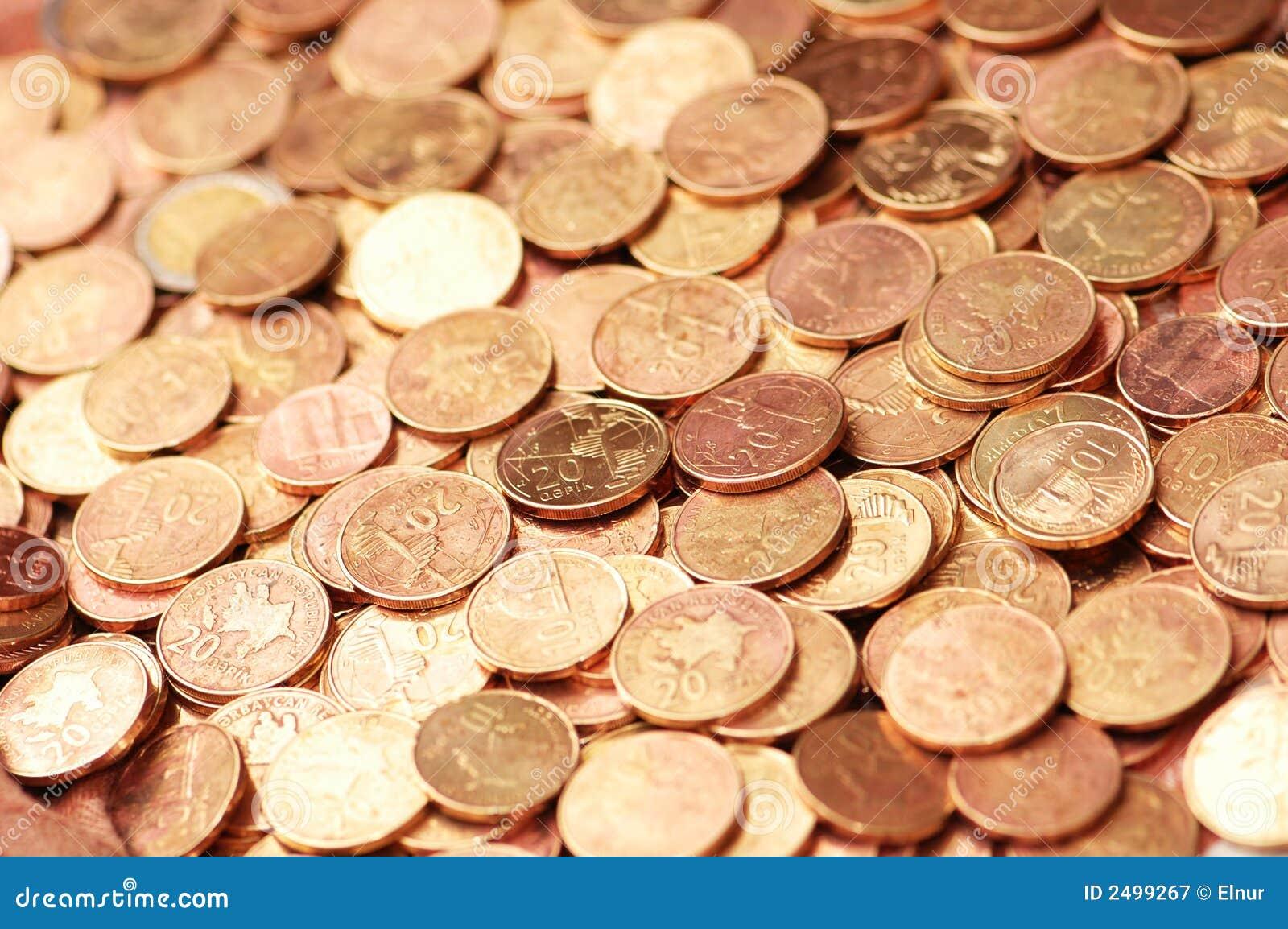 Business concept - Coins