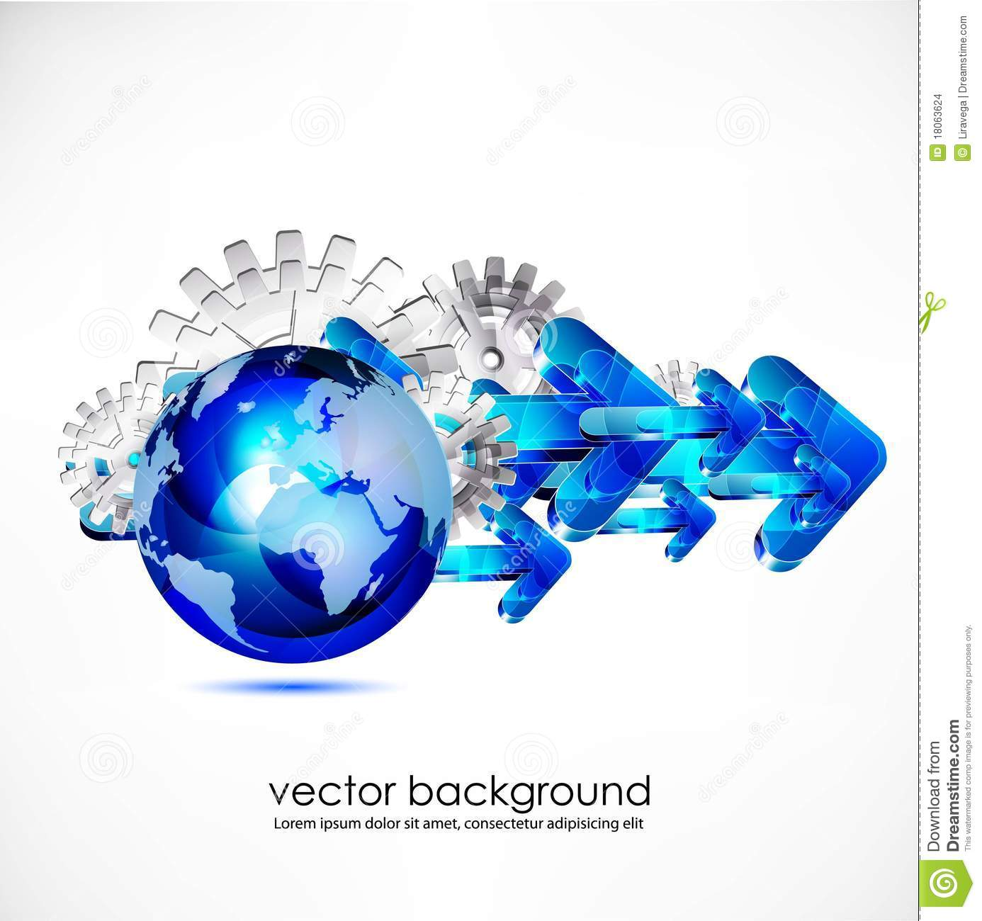 Business Concept Design Stock Images - Image: 18063624