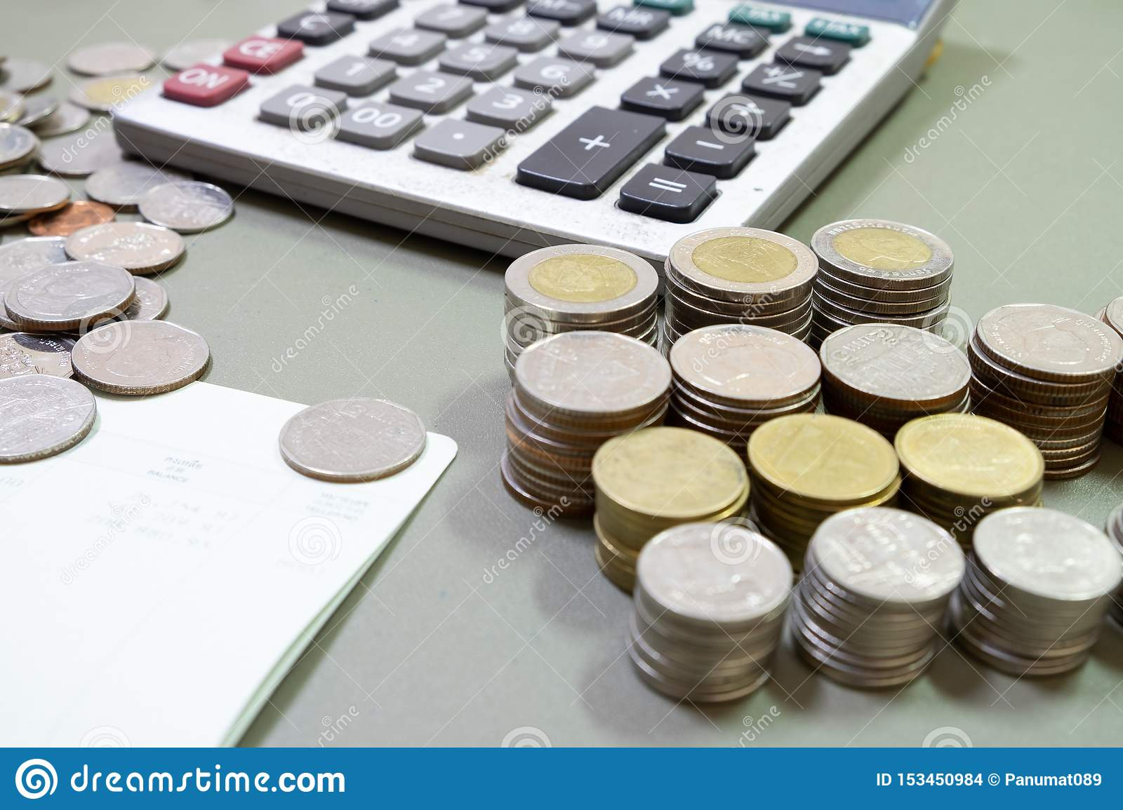 Business concept of making or saving money on investment