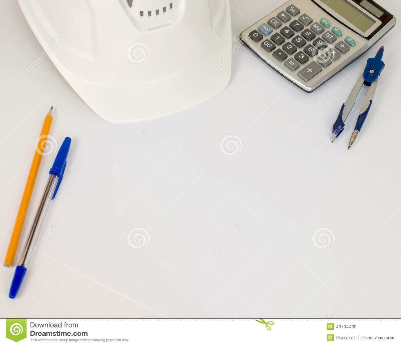 Business Concept With Work And Office Business Stock Photo