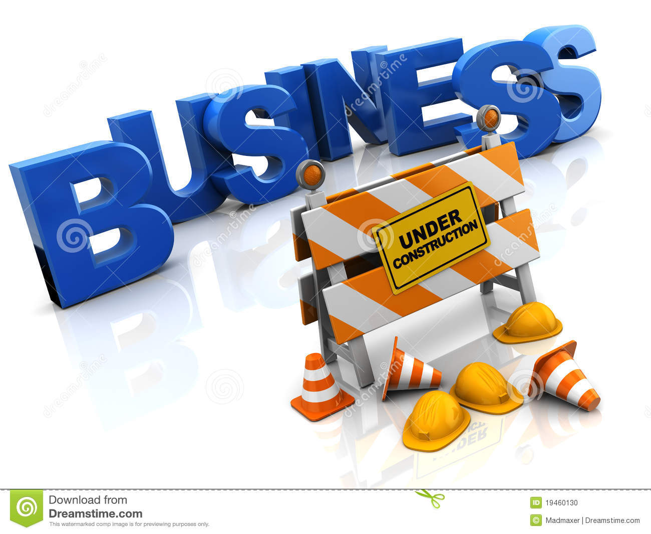 Business construction stock photo image 19460130 for Insurance for home under construction