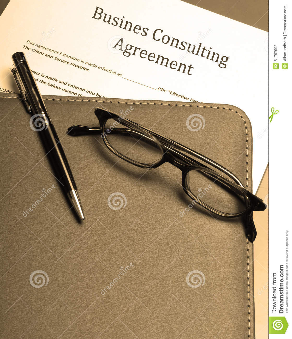 Business Consulting Agreement Photo Image 51767992 – Business Consulting Agreements