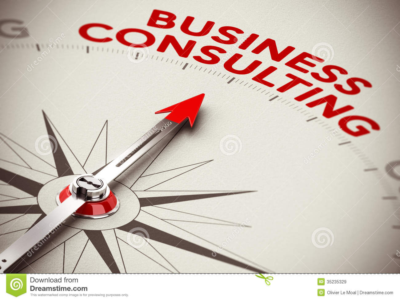 Business consulting concept stock illustration for Strategic design consultancy