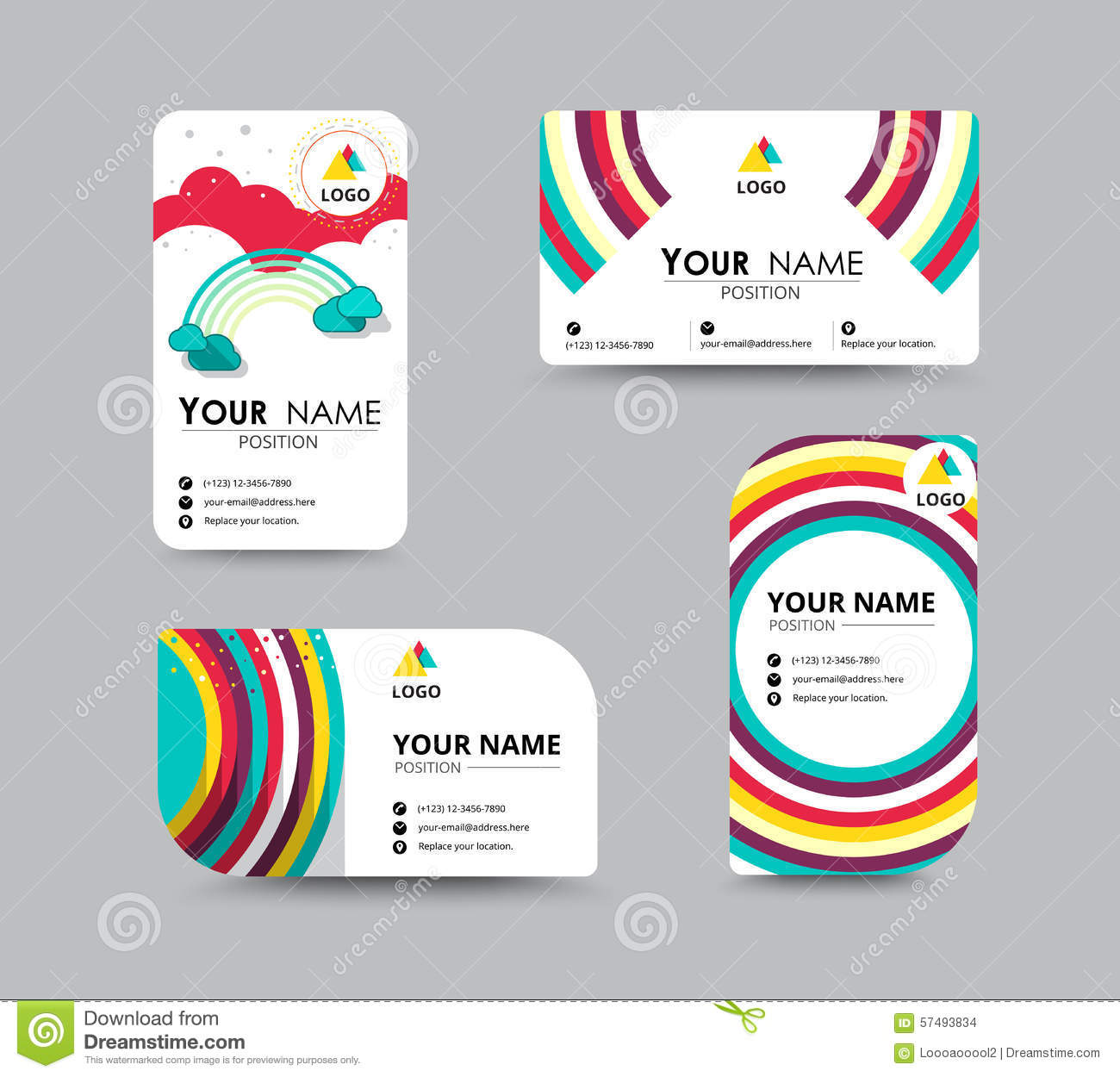 contact card template - Fieldstation.co