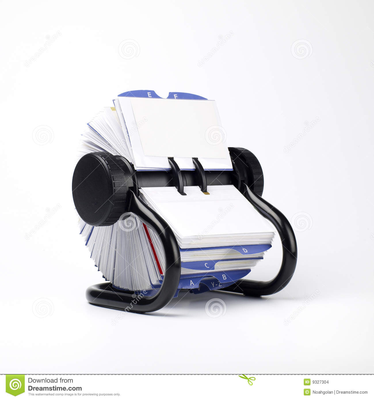 Business Contact: Business Contact File Stock Images