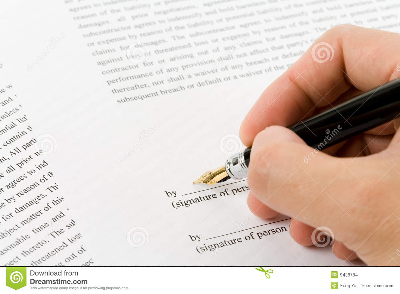 Business Contract Images Image 9438784 – Business Contract